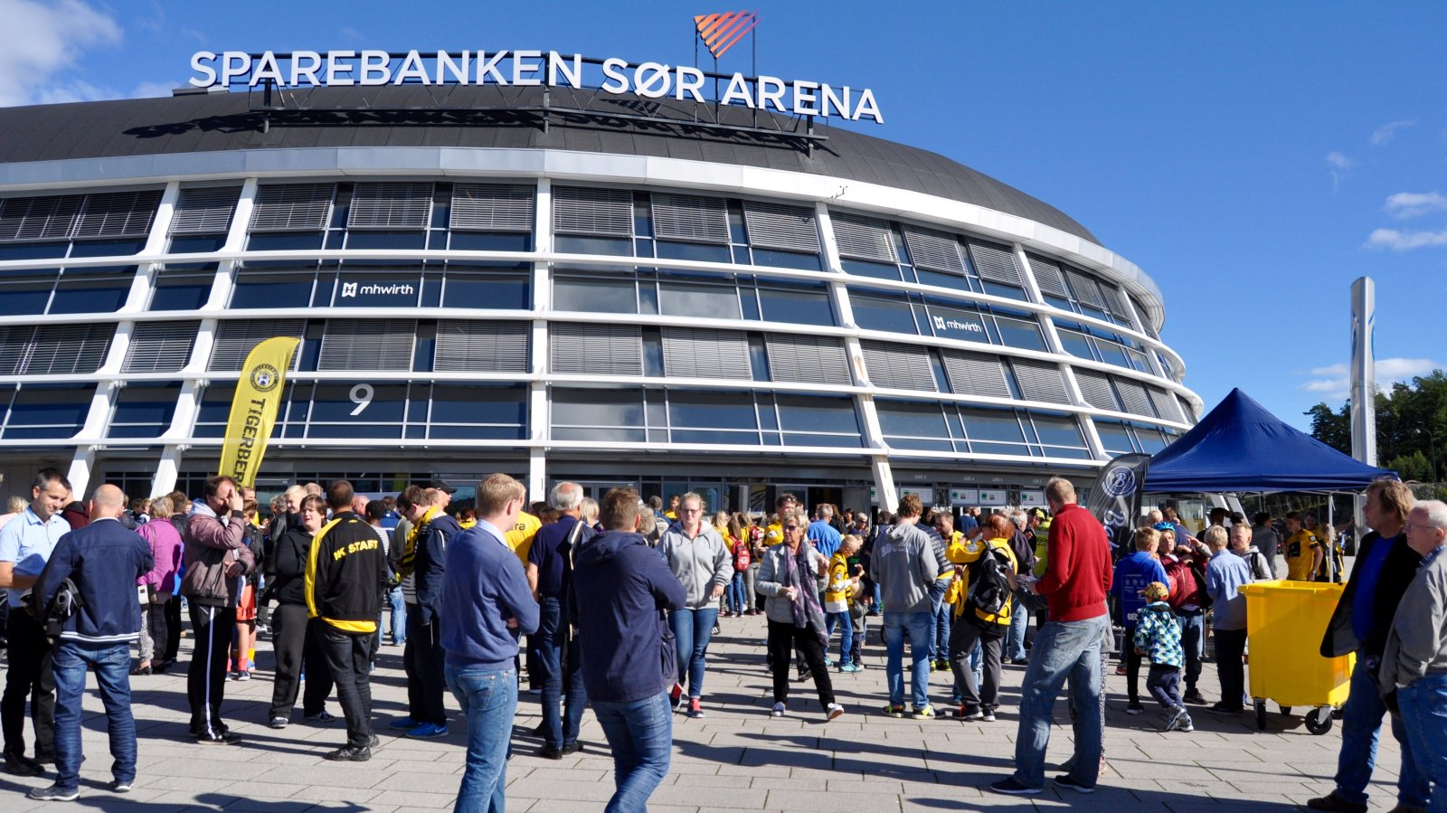 Sparebanken Sør Arena, Jubileumskamp 2015