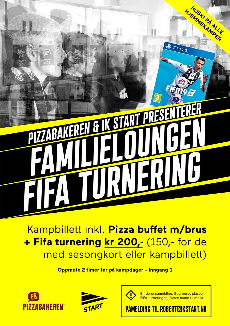 Fifa familielounge plakat