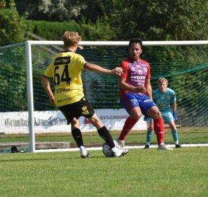 Levi Eftevaag spilte en glimrende kamp for bortelaget på Fevik stadion