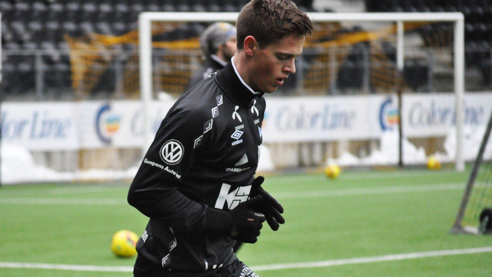 Andreas Hollingen,Trening, Sparebanken Sør Arena
