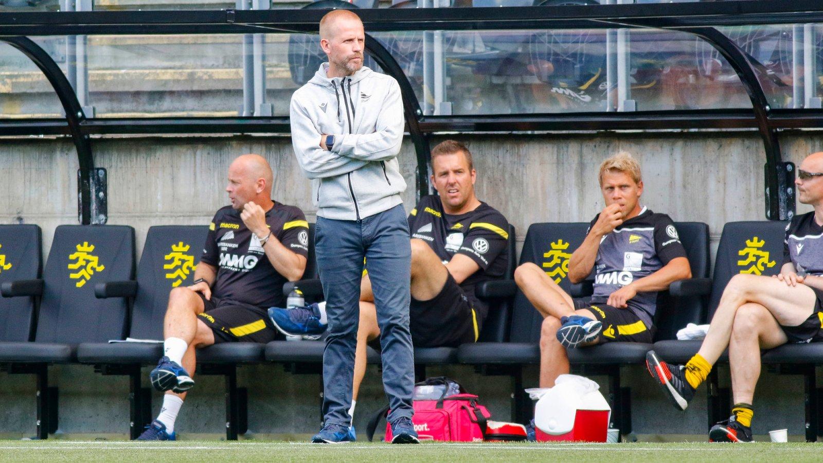 Joey Hardarson under årets første Eliteserie-kamp på Sparebanken Sør Arena. Foto: Tor Erik Schrøder / NTB scanpix