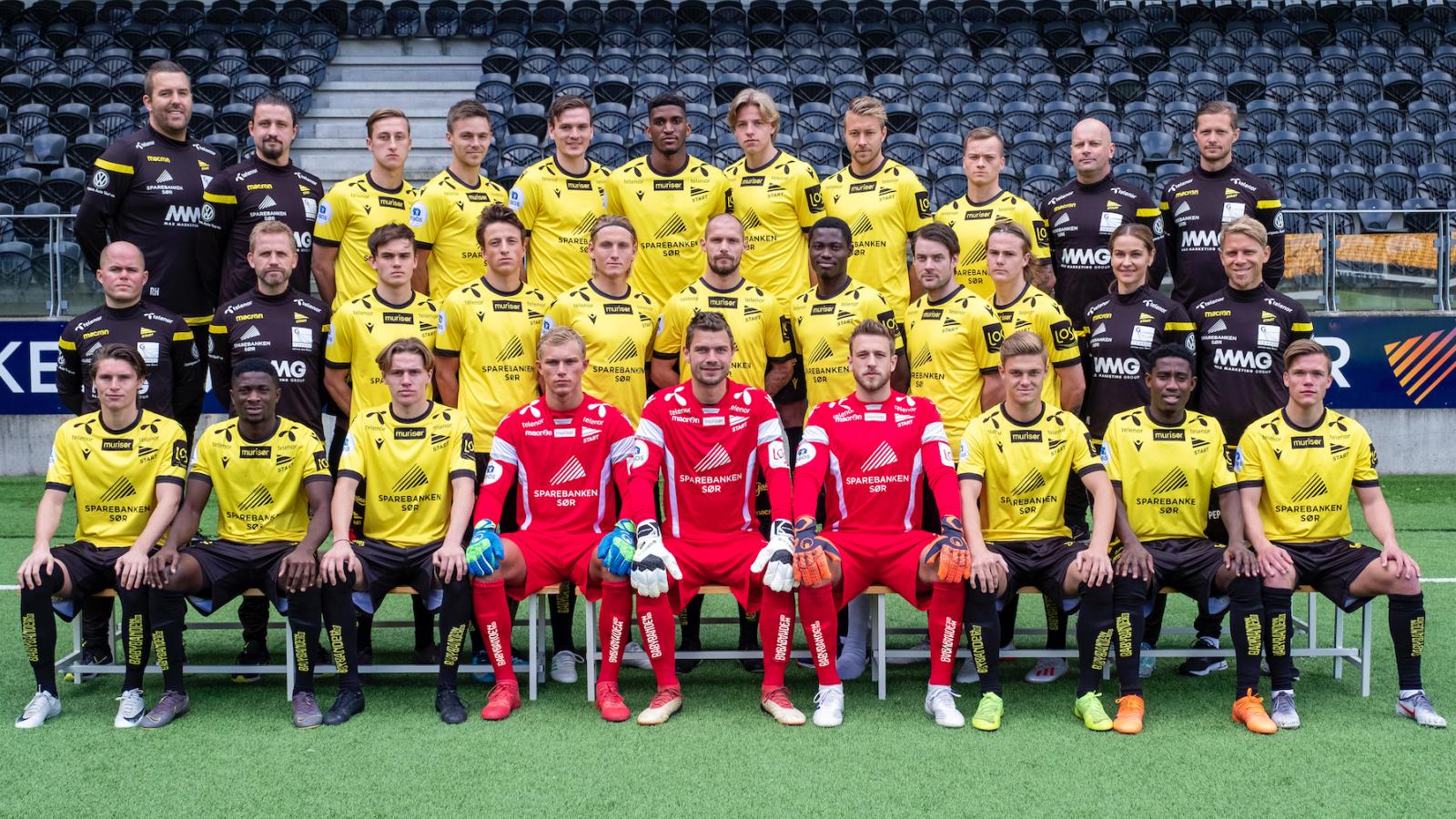 IK Start lagbilde 2019