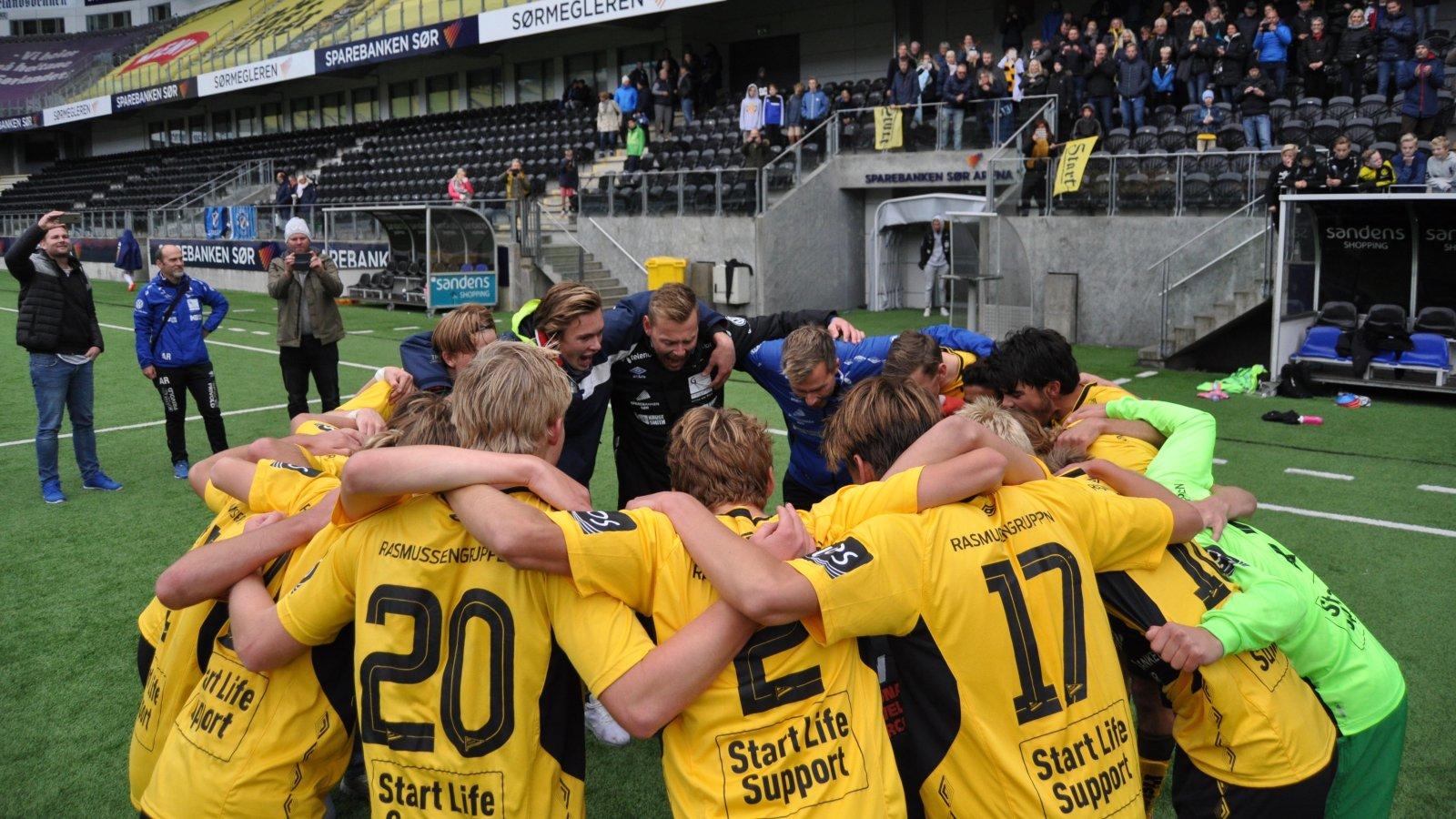 Start g16 - Stabæk G16
