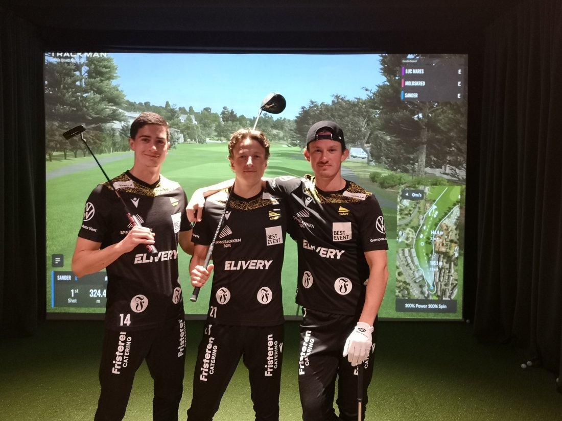 Luc Mares, Sander Sjøkvist, Matias Belli Moldskred - golf.jpg