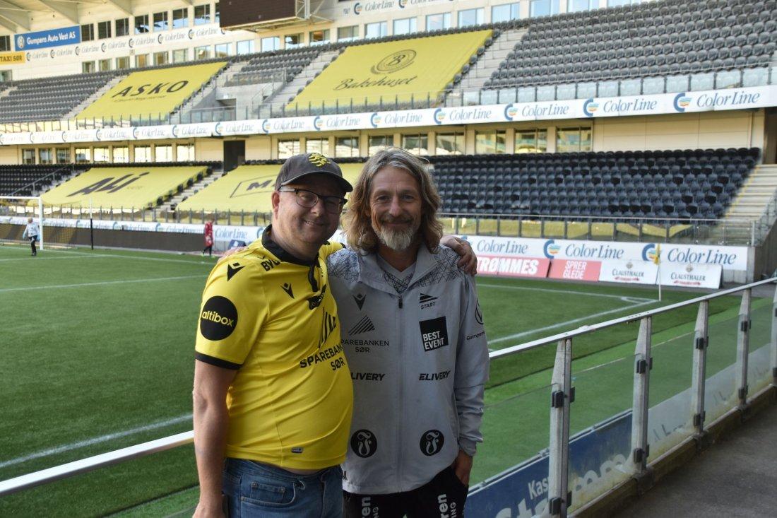 Ole Gilboe Hermansen Erik Mykland Sparebanken Sør Arena.jpg