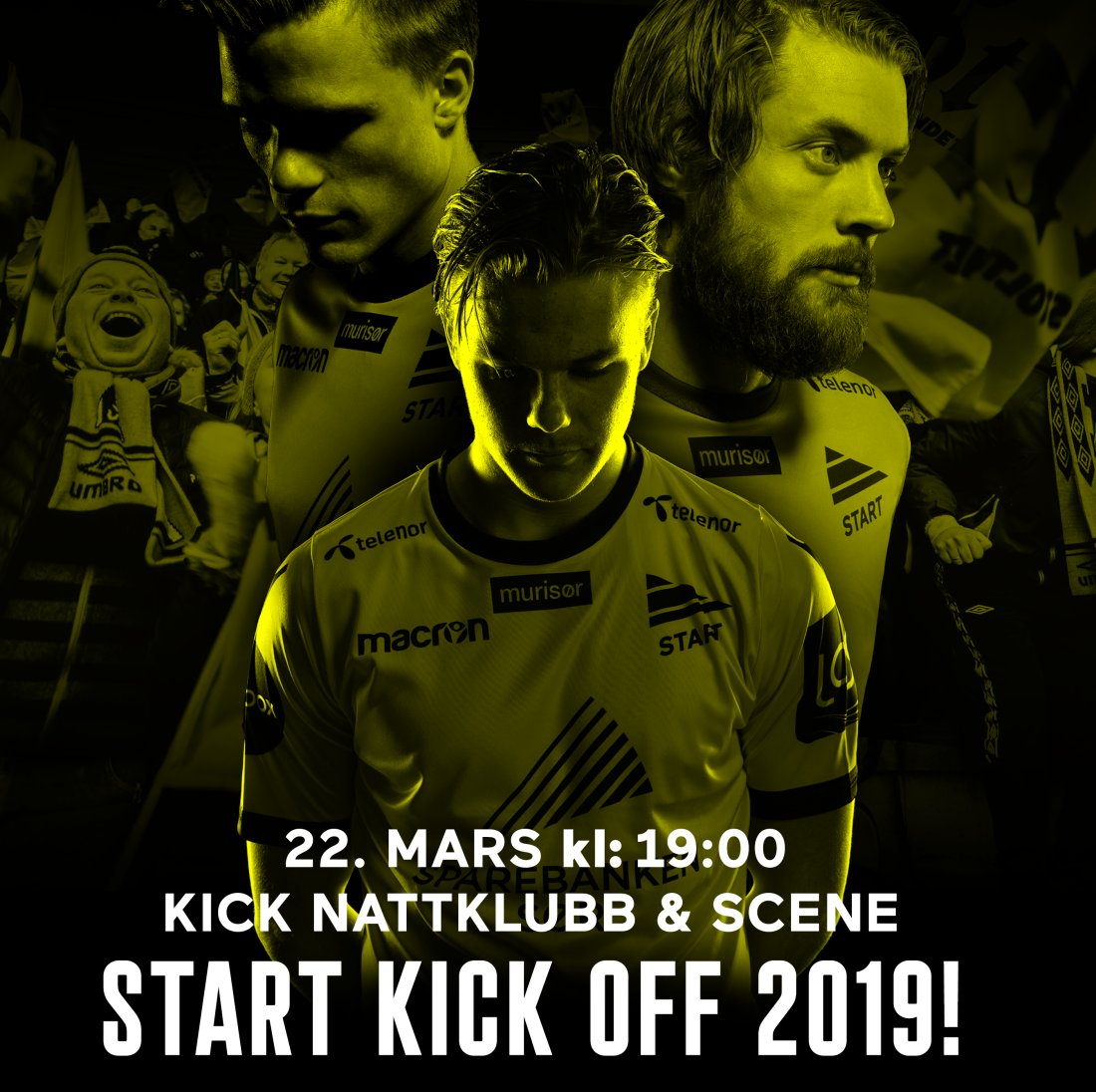 KICK OFF POSTER SOSIALE
