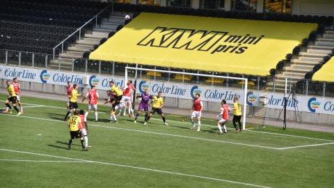 Start scoret to men tapte på Sparebanken Sør Arena
