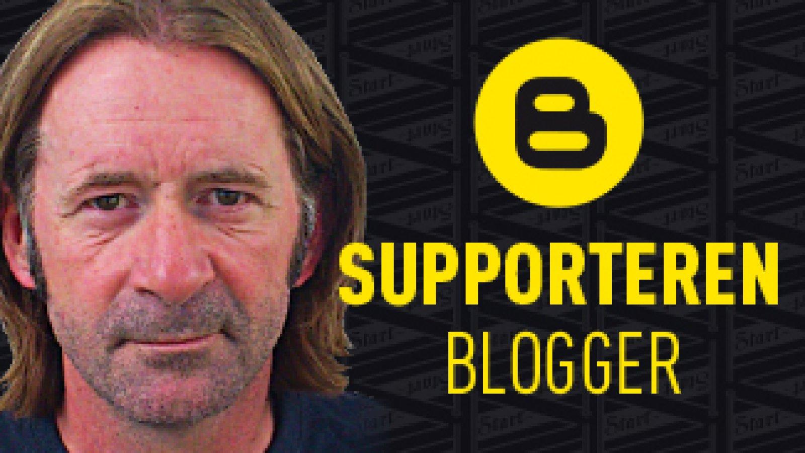 Supporteren blogger Andre
