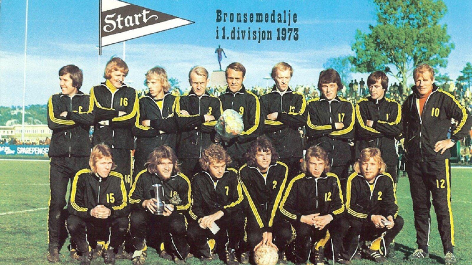 IK Start lagbilde 1973