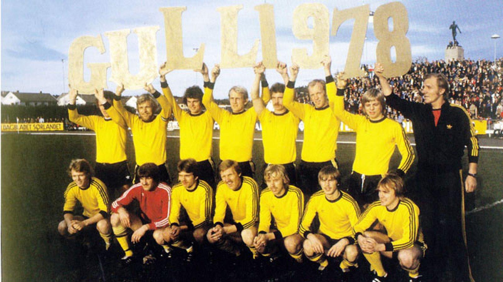 gull-laget 1978