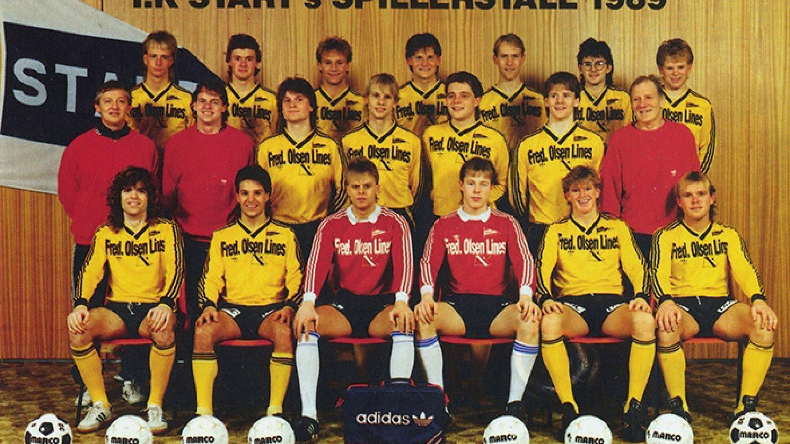 IK Start lagbilde 1989