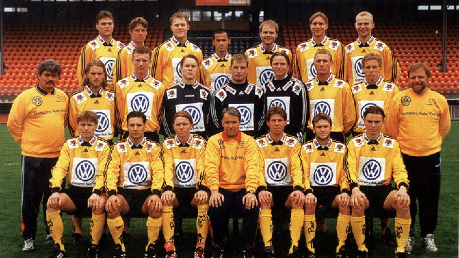 IK Start lagbilde 1998
