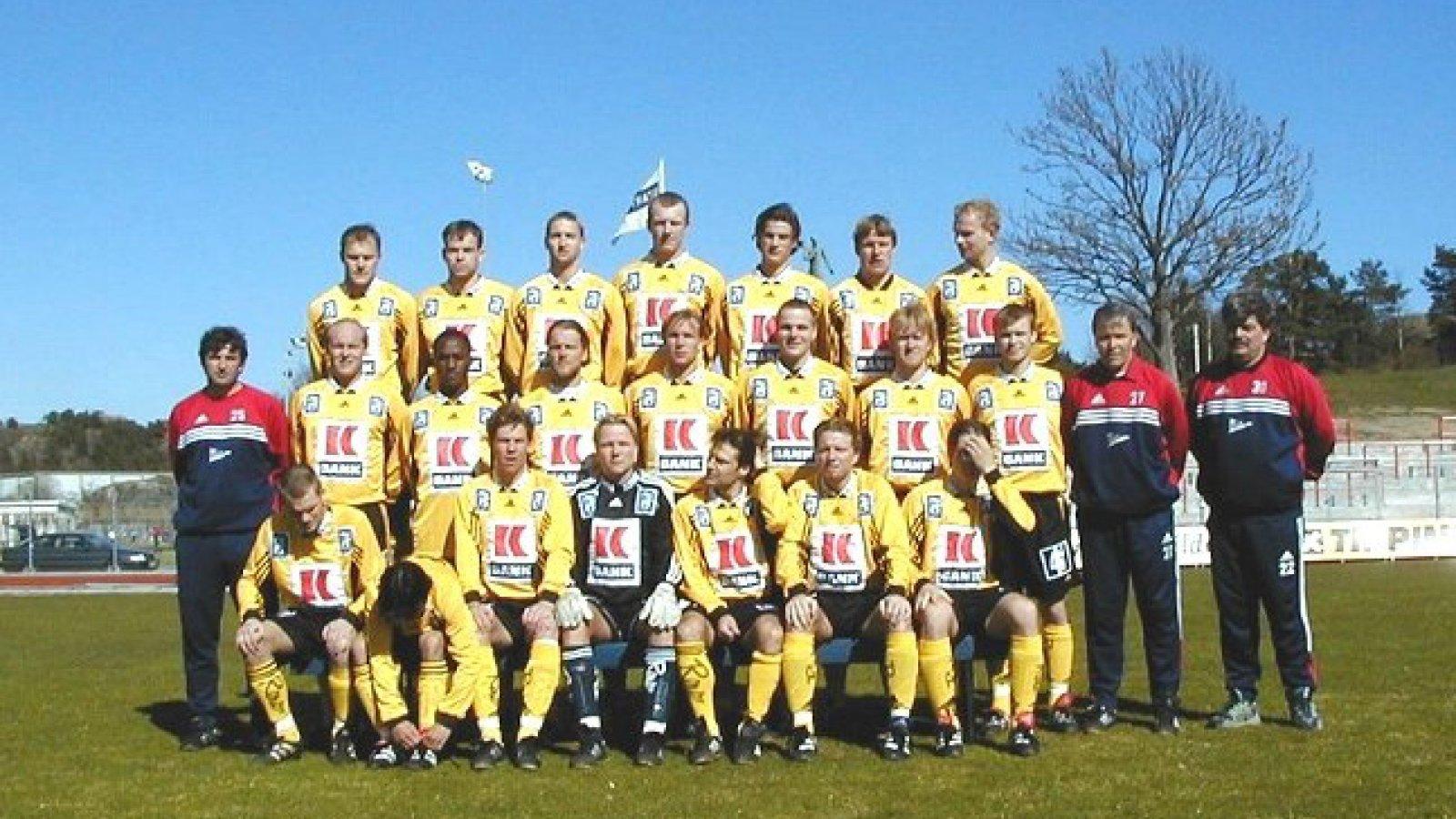 IK Start oppstilt til lagbilde 1999