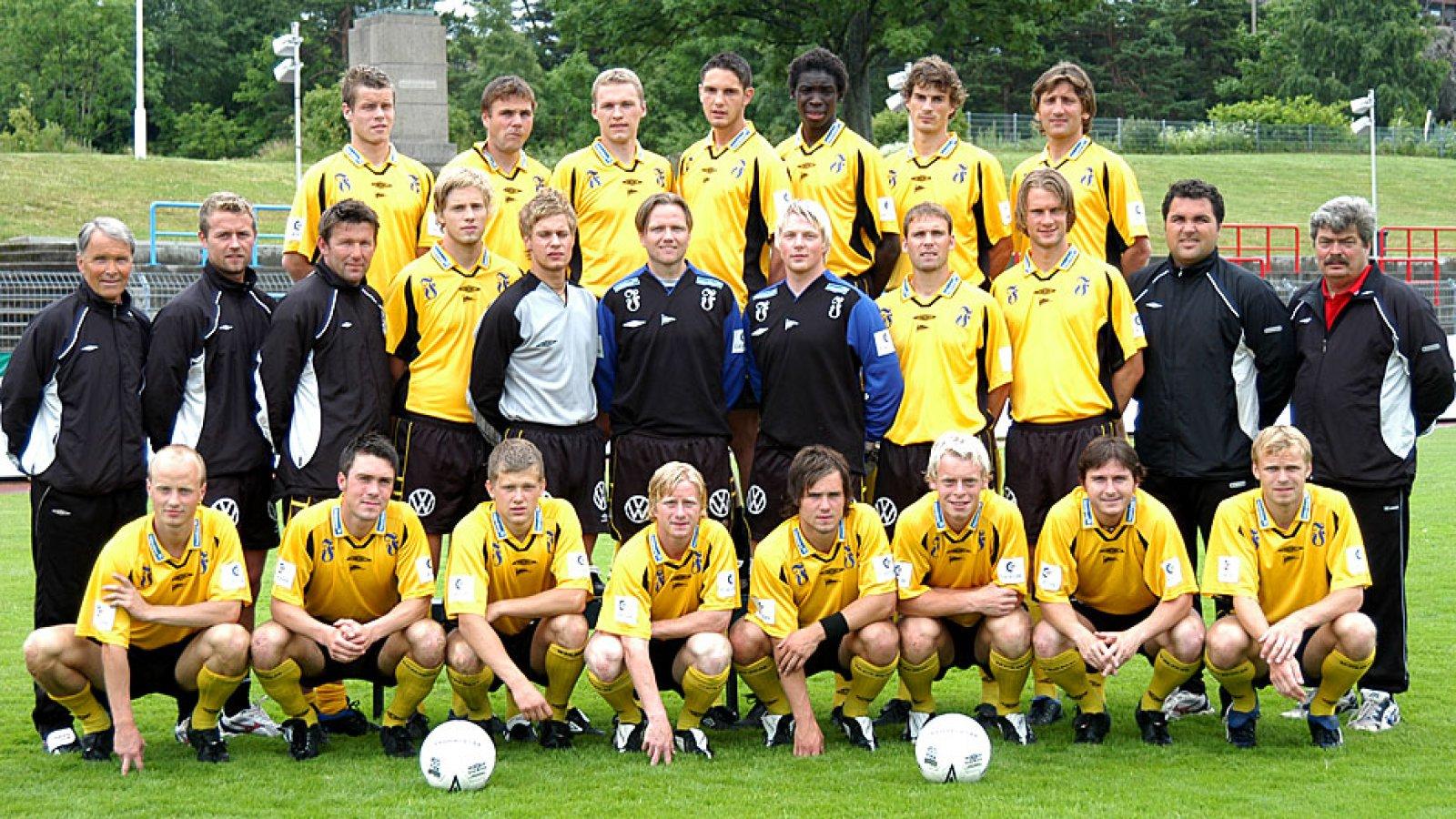 IK Start lagbilde 2003