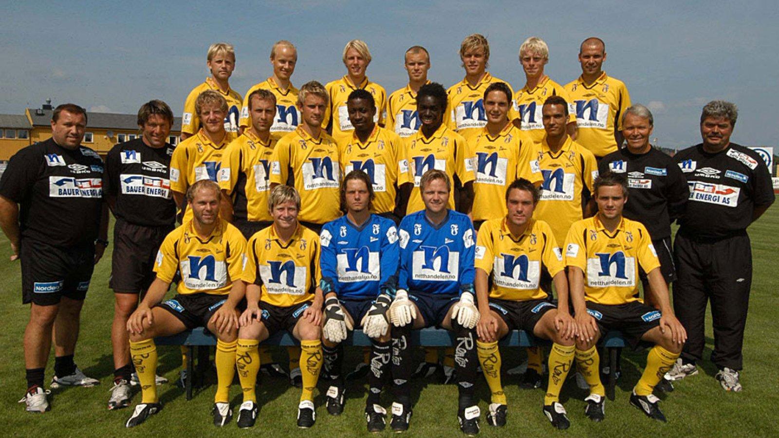 IK Start lagbilde 2004