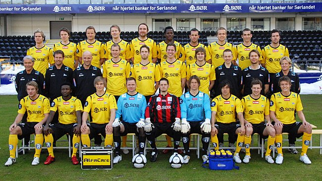 IK Start lagbilde 2010