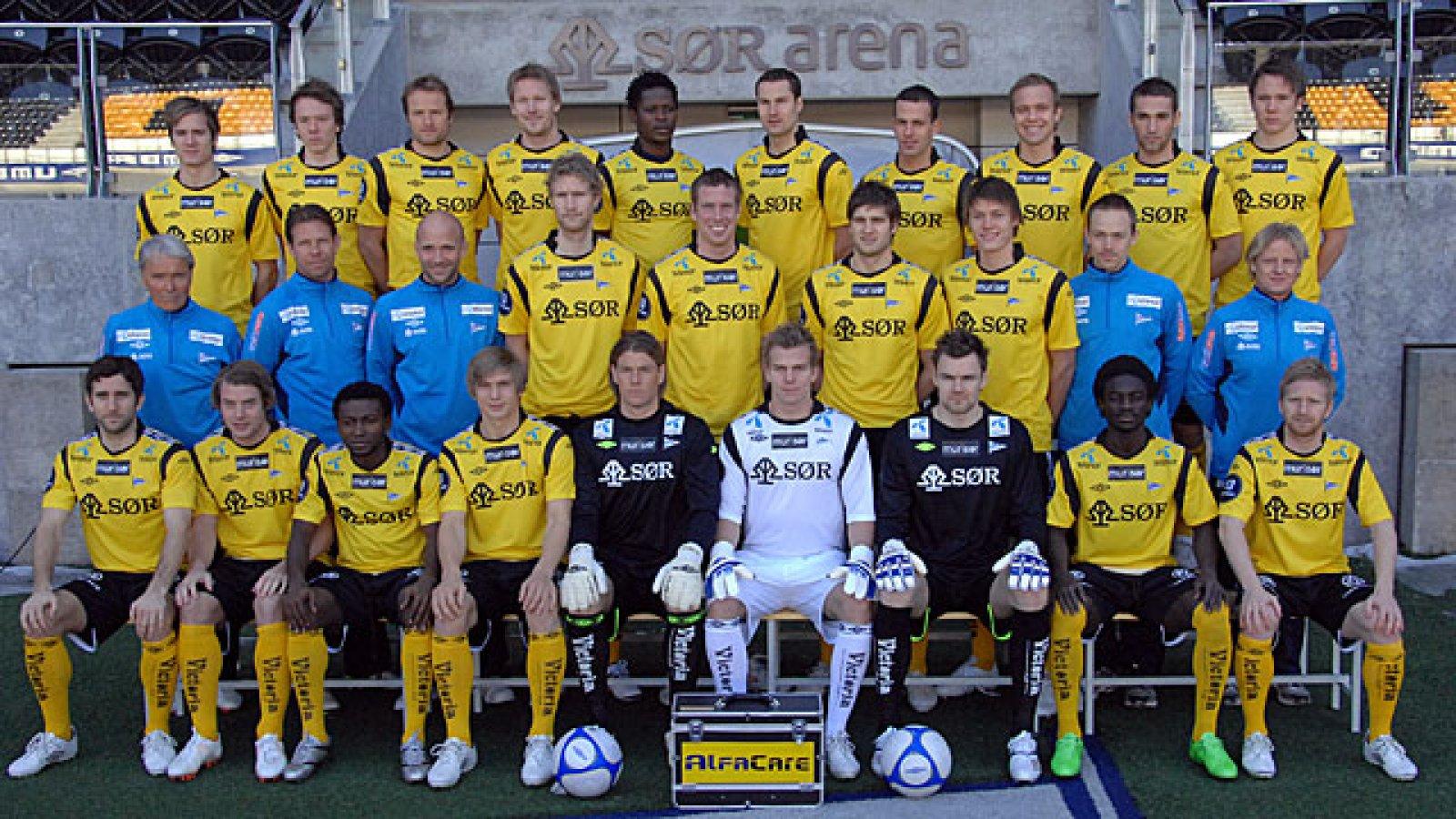 IK Start lagbilde 2011
