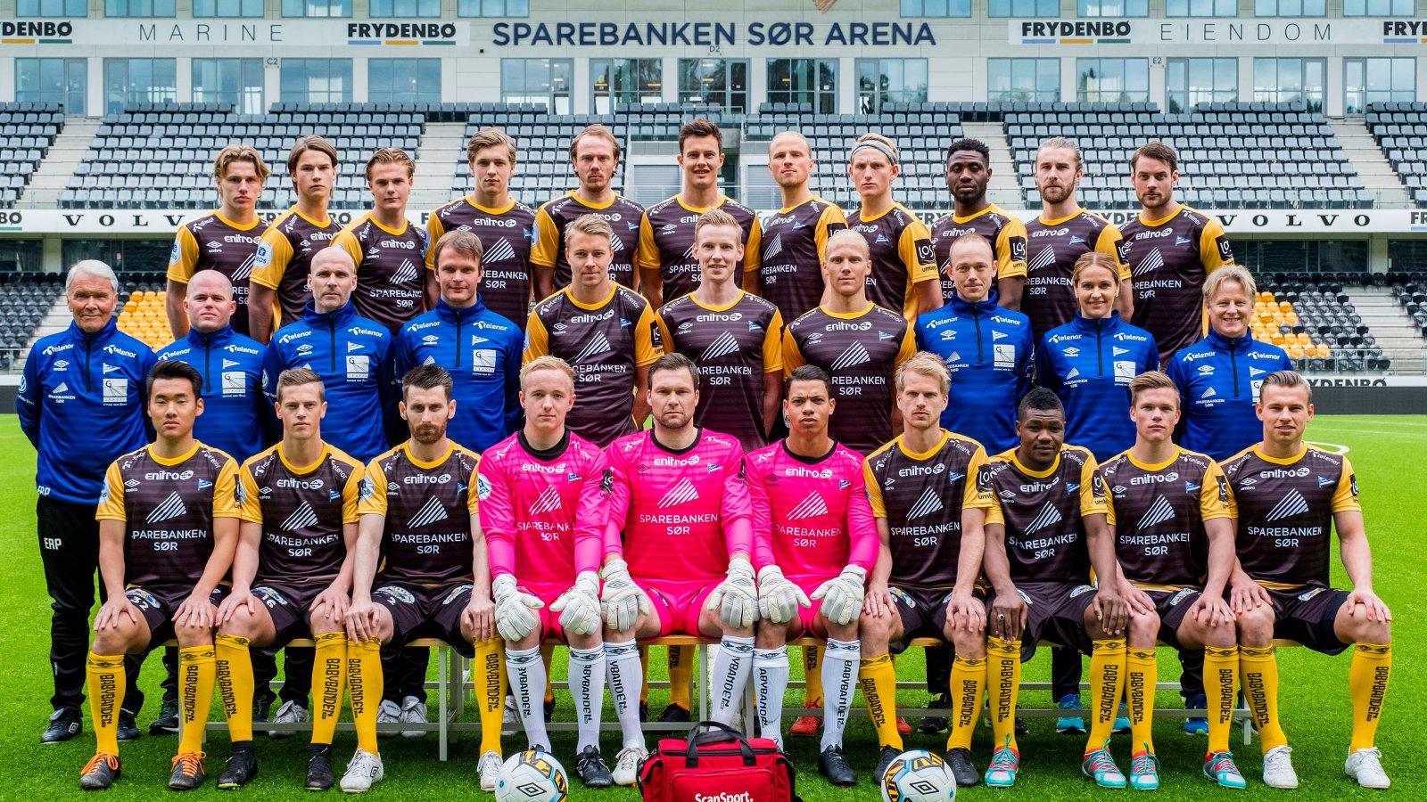 IK Start lagbilde 2017